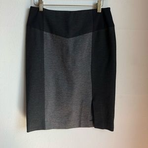 Halogen sz 4 black/gray cute pencil career skirt